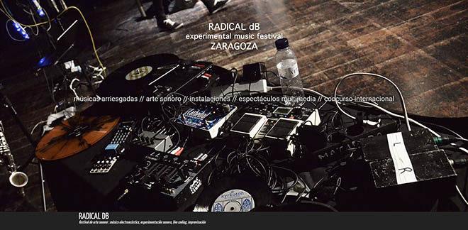 La obra sonora de Miguel Ángel Lordán en el Festival sonoro Radical DB