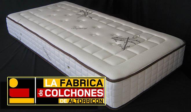 Publicidad de la Fábrica de colchones de Altorricón