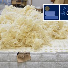 Colchón Aberdeen de La fábrica de colchones de Altorricón con látex y lana